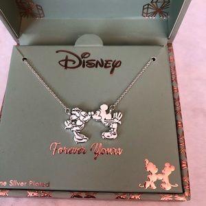 Mickey and Minnie Disney necklace